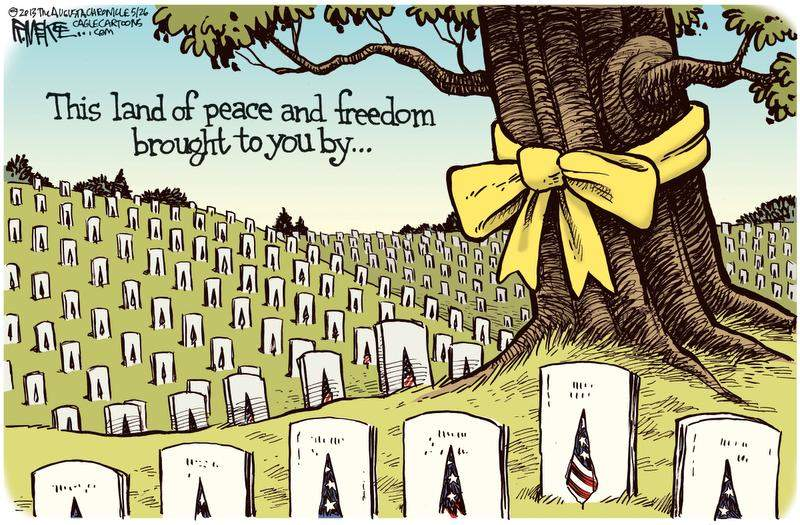 memorial day comics land of peace and freedom
