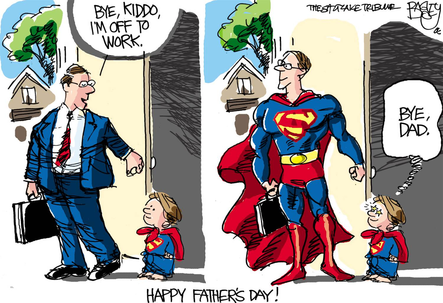 every dad is a superhero