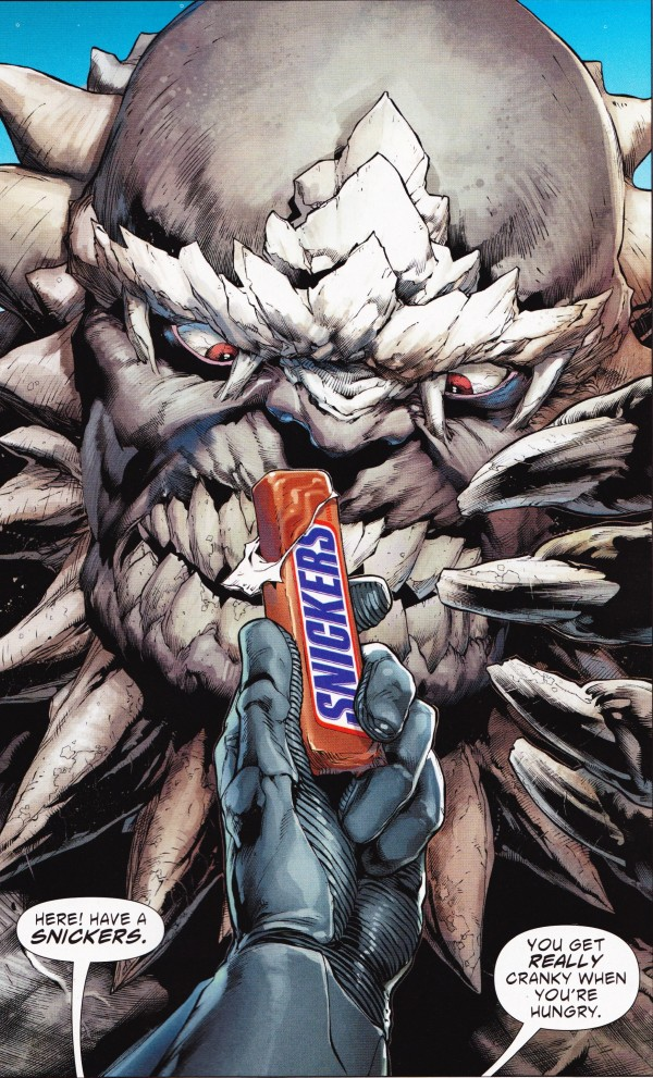 snickers product placement comic book marketing advertising