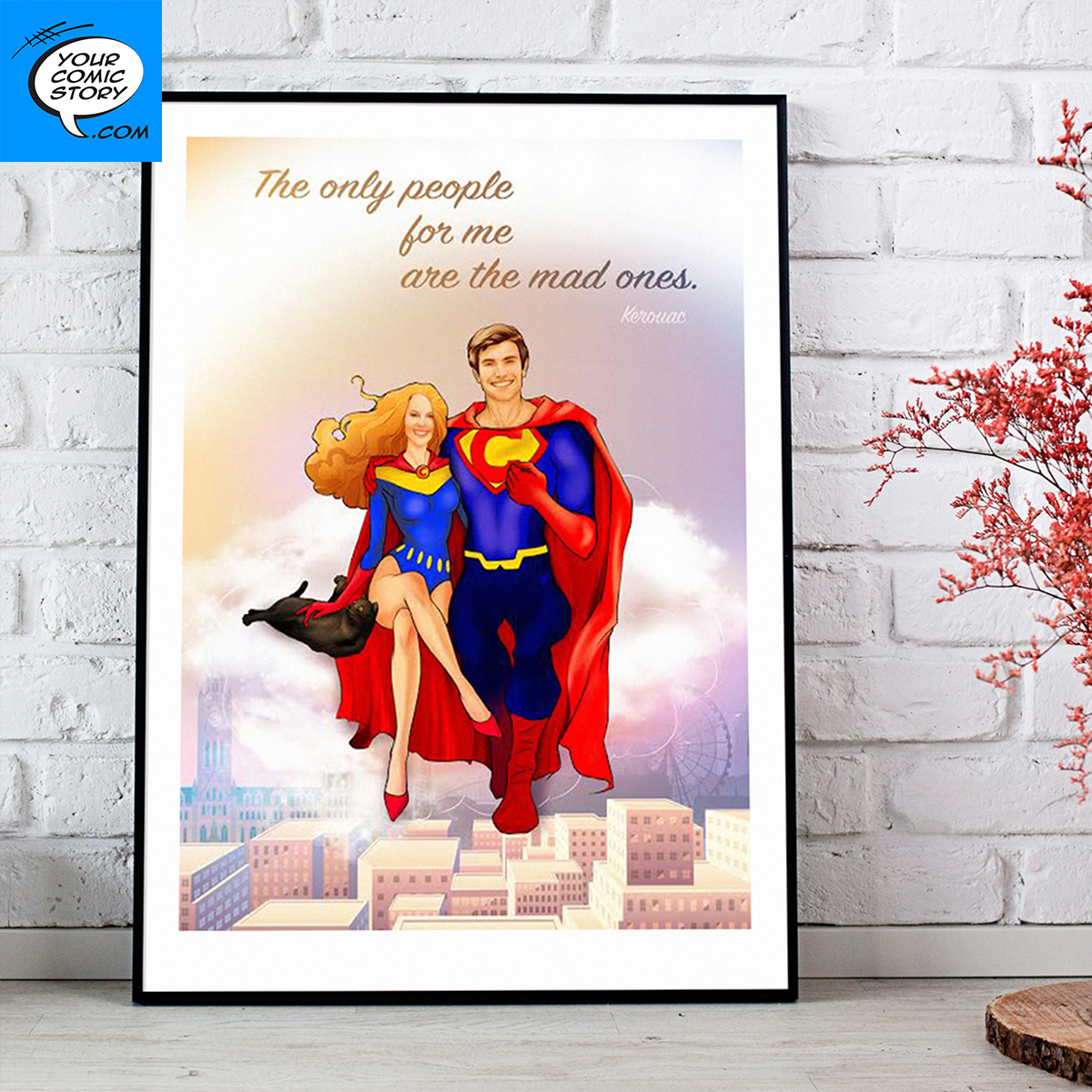Celebrate Your Paper Anniversary With a Custom Gift from Your Comic Story!